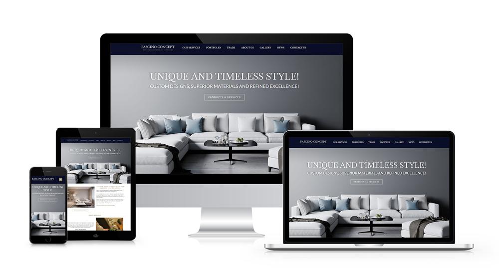 fascino-concept-portfolio mājas lapas izveide